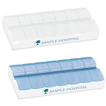 AM/PM Jumbo Easy Scoop Pill Box