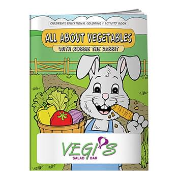 Coloring Book: All About Vegetables
