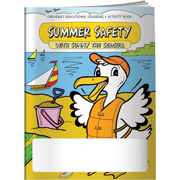 Coloring Book: Summer Safety