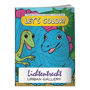 Coloring Book: Let's Color!