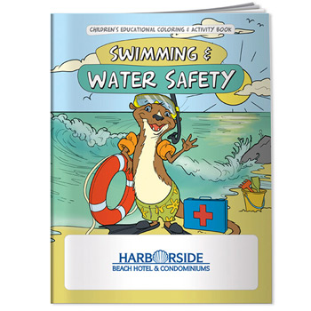 Coloring Book: Swimming & Water Safety