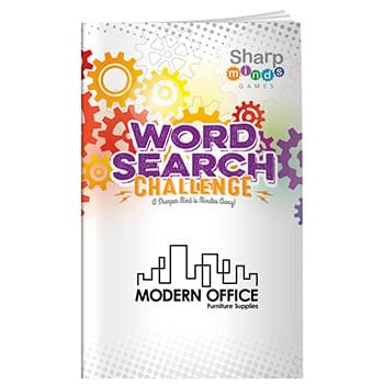 Sharp Minds Games: Word Searches Challenge