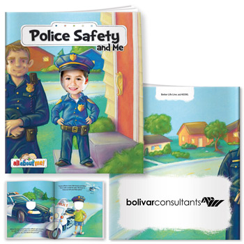 All About Me Book: Police Safety and Me