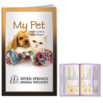 Better Book: My Pet Health Guide & Record Keeper