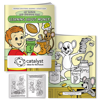Coloring Book: Learning About Money