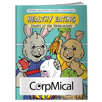 Coloring Book: Healthy Eating
