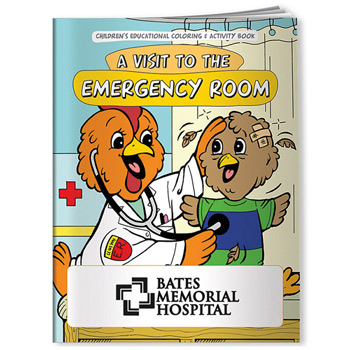 Coloring Book: A Visit to the Emergency Room