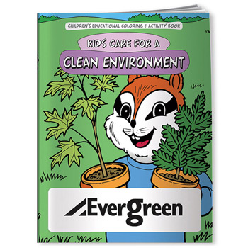 Coloring Book: Kids Care for a Clean Environment