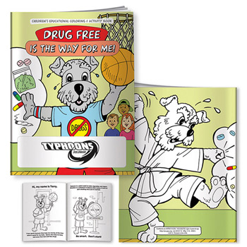 Coloring Book: Drug Free is the Way for Me
