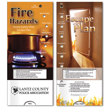 Pocket Slider: Fire Hazards - Home Safety