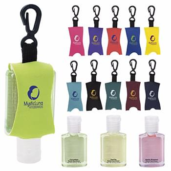 .5 oz. Hand Sanitizer with Leash - Scented