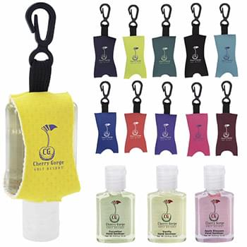 .5 oz. Custom Label Hand Sanitizer/Leash - Scented