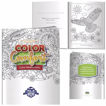 Adult Coloring Book - Meditations (Birds)