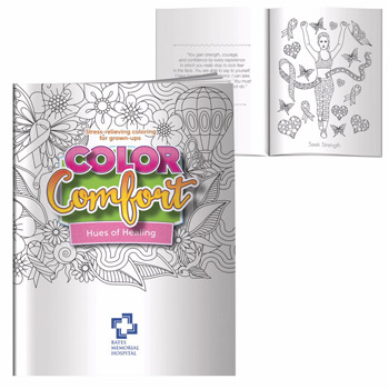 Adult Coloring Book - Hues of Healing