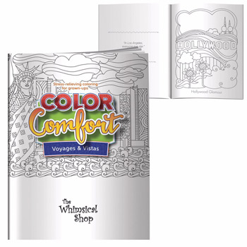 Adult Coloring Book - Voyages & Vistas