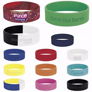 "1"" inch Silicone Wrist Band"
