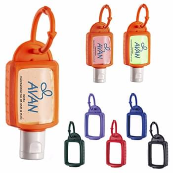 .5 oz. Hand Sanitizer with Silicone Leash - Scented