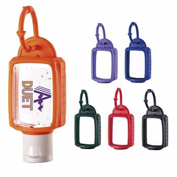 1 oz. Hand Sanitizer with Silicone Leash