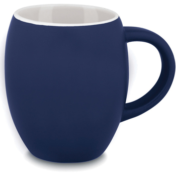 Matte Barrel Ceramic Mug - 16 oz.