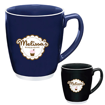 Large Color Bistro with Accent Mug - 20 oz.