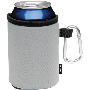 Collapsible KOOZIE Can Kooler with Carabiner