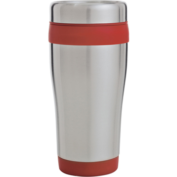 Color Band Travel Tumbler - 14 oz.
