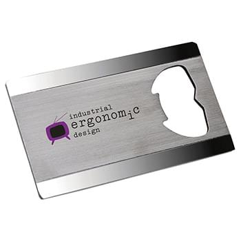 Steel Bottle Opener