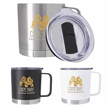 Double Wall Camper Metal Mug - 16 oz.