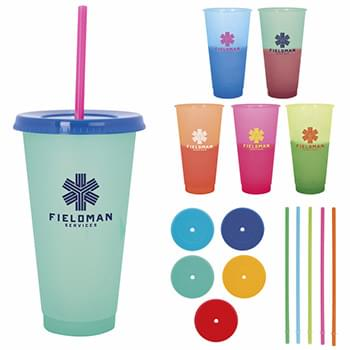 Ronnie Color Changing Tumbler - 24 oz.