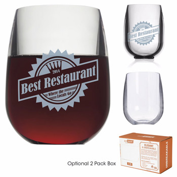 pubWARE Stemless Wine - 12 oz.