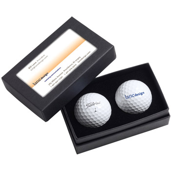 Titleist 2-Ball Business Card Box - DT SoLo