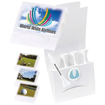 "4-1 Golf Tee Packet - 2-3/4"" Tee"