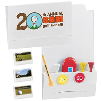"4-2-1 Golf Tee Packet - 2-1/8"" Tee"