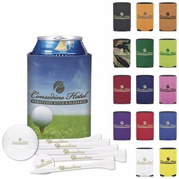 Collapsible KOOZIE Deluxe Golf Event Kit DTSolo