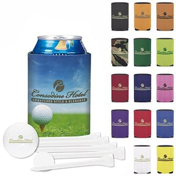 Collapsible KOOZIE® Dlx Golf Event Kit-Ultra 500
