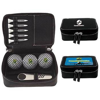 Zippered Golf Gift Kit - DT Solo