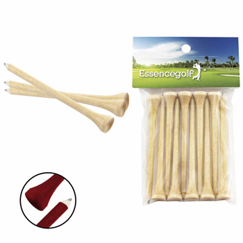 Teecil&#174 Golf Tees with Card Topper