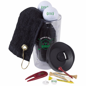 Tumbler n' Towel Golf Kit - Titleist&#174 DT&#174 TruSoft
