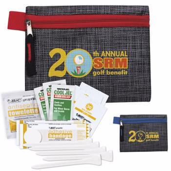 Golf First Aid Kit with Printed Non Woven Pouch