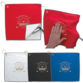 HOT DEAL - Double Layer Golf Towel