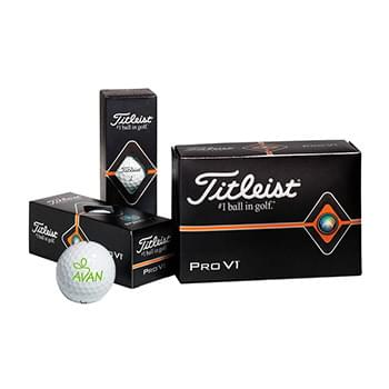 Titleist® Pro V1® Golf Ball Half Dozen Std Serv