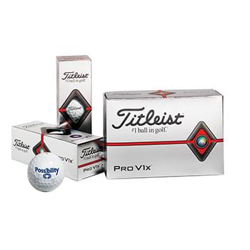 Titleist® Pro V1x® Golf Ball Half Dozen Std Serv