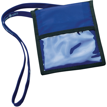 Neck Wallet with Lanyard