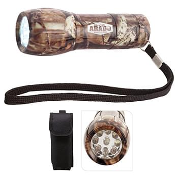 SALE - Camouflage Mini Aluminum LED Flashlight