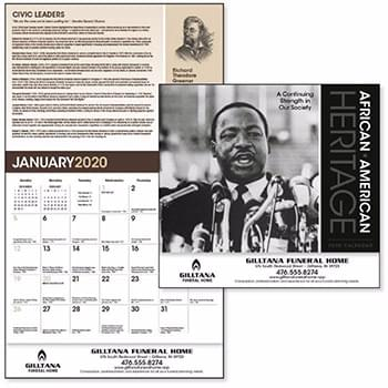 African-American Heritage: Dr. M Luther King, Jr.