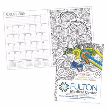 Adult Coloring Book Planner - Academic