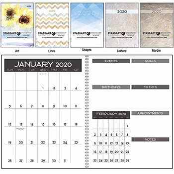 Monthly Happenings Planner