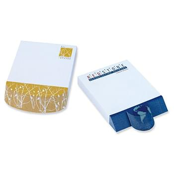 "BIC&#174 Ecolutions&#174 4"" x 6"" Adhesive Beveled Notepad"
