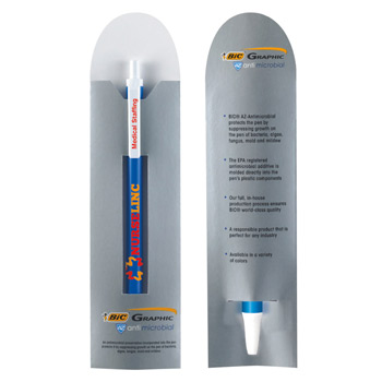 BIC&#174 Clic Stic&#174 Antimicrobial Pen and Sleeve