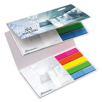 BIC&#174 Mylar Flag and Notepad Booklet